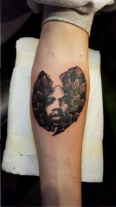 Wu Tang-Clan Hommage-Tattoo