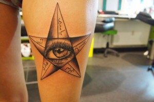 Star-Eye, Black & Grey, Tätowierungen aus Dresden