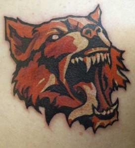 Wolf von Tätowiere Lutz, Tattoostudio Inkerei